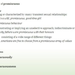 Prompt #52: Promiscuous