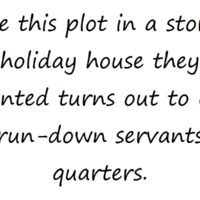 Prompt #105: Holiday house