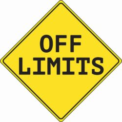Prompt #204: Off limits