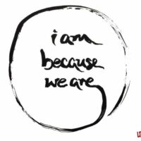 Prompt #401: I am because we are