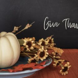 Prompt #443: Giving thanks